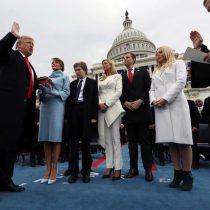 Agresivo y populista discurso; jura Trump como presidente 45º de Estados Unidos