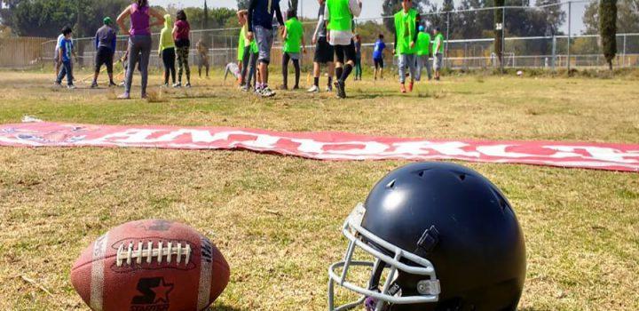 Liga de Futbol Americano CONFAO se une a deporte antorchista en la CDMX