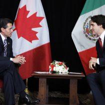 México y Canada, importantes socios comerciales, EPN dialoga con Primer Ministro.