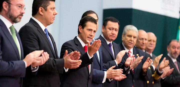 Anuncia Peña Nieto acciones ante nuevo gobierno de EU
