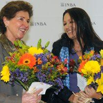María Cristina García Cepeda… Dio posesión como titular del INBA a Lidia Camacho