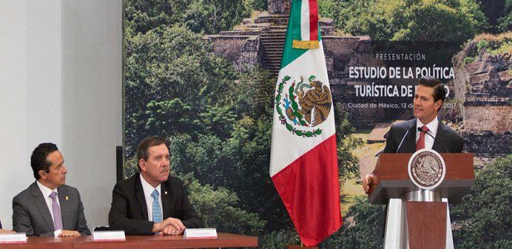 México ocupa el noveno sitio entre los destinos más visitados del mundo