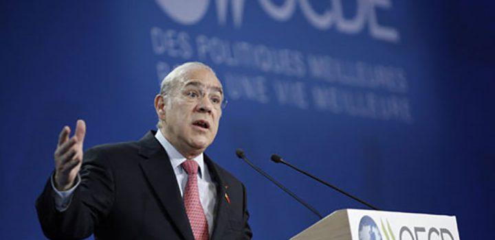 EPN habla con Secretario de la OCDE sobre temas prioritarios de agenda nacional