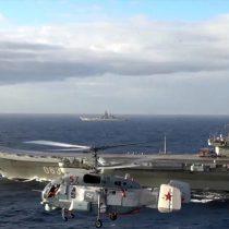 Buques militares rusos empiezan a abandonar la zona del conflicto sirio