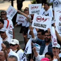 Protestas contra el Gasolinazo CDMX