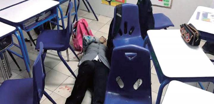 Tragedia en el Colegio Americano, en Nuevo León