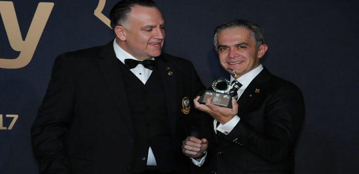 Rotary Internacional reconoció al Jefe de Gobierno por las acciones sociales de su administración