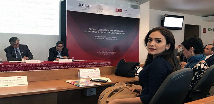 El marco normativo de nuestra Constitución impulsó el desarrollo social, político y económico del país: Iris Vianey Mendoza.