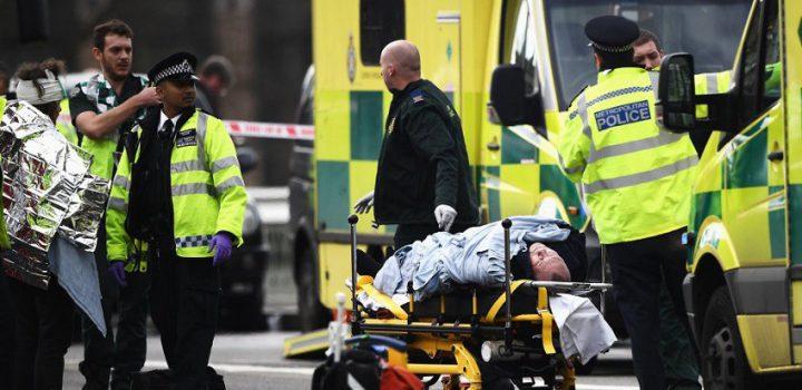 Cuatro muertos y 20 heridos en atentado terrorista cerca del Parlamento británico en Londres