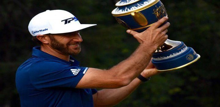 Dustin Johnson se lleva el World Golf Championships en CDMX