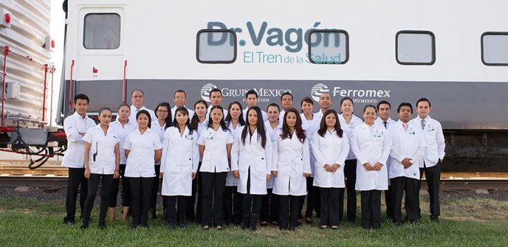 El Tren de la salud Dr. Vagón llega a Jalisco