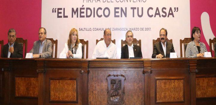"Llega ""El Médico En Tu Casa"" a Coahuila"