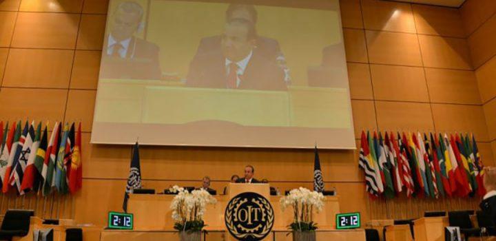 Sobresale STPS en elaboración de Agenda para Conferencia Internacional del Trabajo