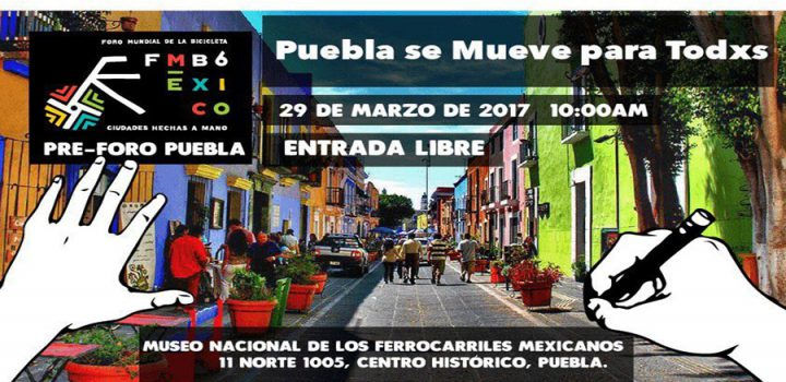 """Se llevará a cabo el Foro """"Puebla se mueve para todxs"""""""