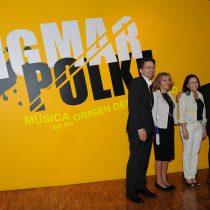 Inauguran en el Museo de Arte Moderno la exposición Sigmar Polke. Música de un origen desconocido