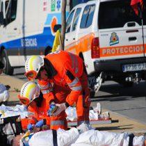 Protocolos de protección civil.