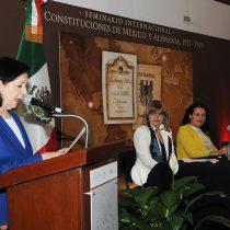 Inauguran el Seminario Internacional: El Constitucionalismo en México y Alemania 1917-1919