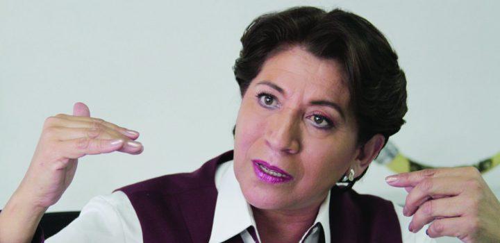 INE prepara multa para Delfina Gómez por gastos de precampaña