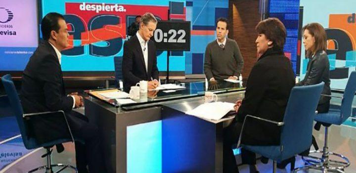 Debate de candidatos al gobierno del Estado de México