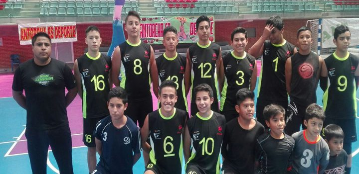 La Ciudad de México llevó a cabo la eliminatoria, rumbo al XII Torneo Nacional de Voleibol