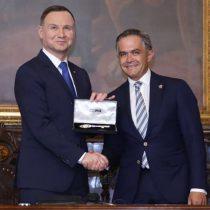 Nombró Gobierno de CDMX Huésped Distinguido al presidente de Polonia