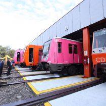 Se suman 4 trenes rehabilitados a líneas 1, 2, 7 y 9 del STC