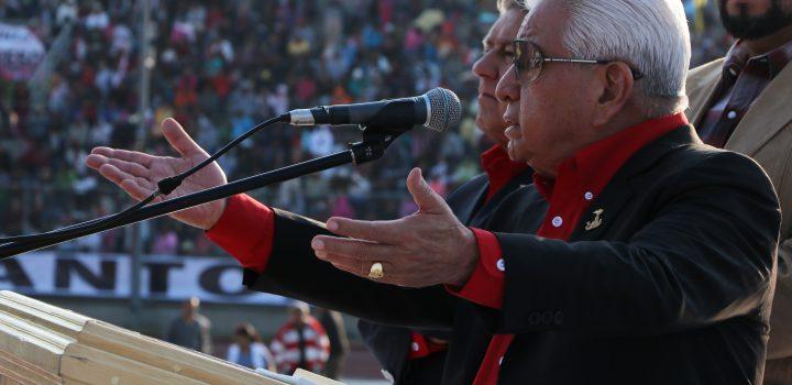 Urge en México organizar al pueblo para abatir desigualdad social