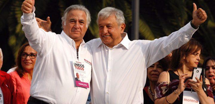 Políticos firman acuerdo promovido por AMLO