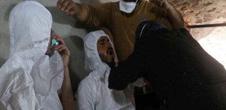 Ataque químico mata al menos a 100 personas en Siria
