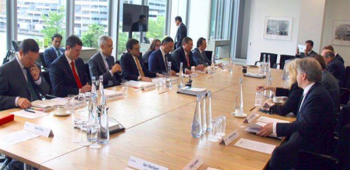 Plantea el Secretario de Economía una mayor apertura comercial con Reino Unido