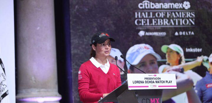 """Reunirá CDMX a las mejores golfistas del mundo en el """"Lorena Ochoa Match Play"""""""