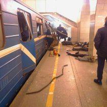 Atentado en San Petersburgo: 10 muertos y 40 heridos en una explosión en el metro