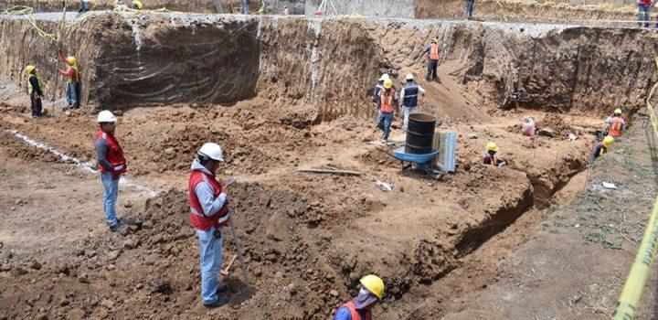 Avanza cimentación del Hospital Generación de Cuajimalpa