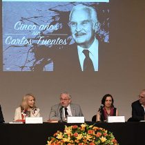 Rinden Homenaje a Carlos Fuentes a cinco años de su fallecimiento