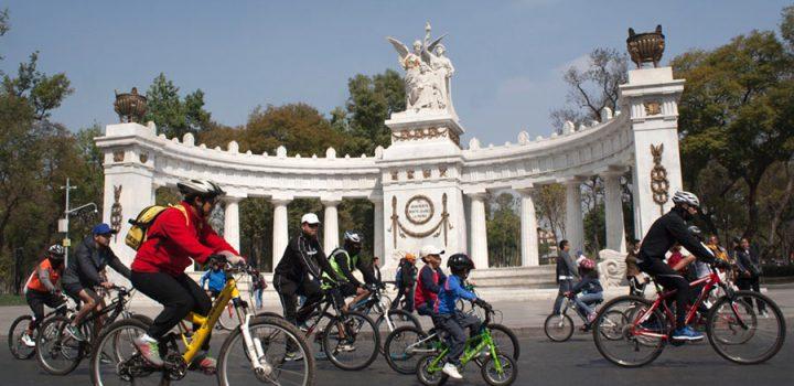 Ciclotón CDMX dedicado al Día del Niño
