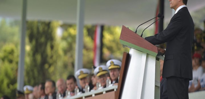Peña Nieto tomó la Protesta de Bandera a los Soldados y Marinos del Servicio Militar