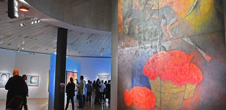 El MAM se ilumina con la prodigiosa y colorida pintura de Rufino Tamayo