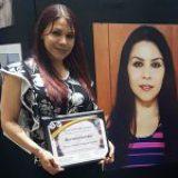Otorga Senado reconocimiento a periodista de la revista Buzos Nancy Grajeda