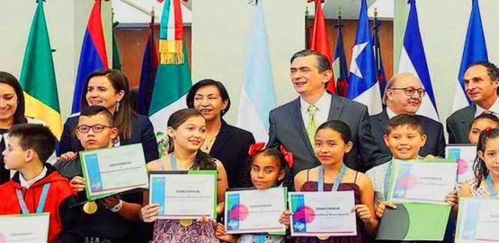 Premian a niños de América Latina e impulsan sus talentos