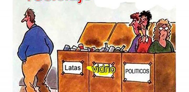El reciclaje de políticos no resolverá los males del país