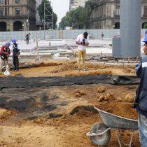 Determina INAH el procedimiento para proteger y conservar los vestigios hallados en el Zócalo