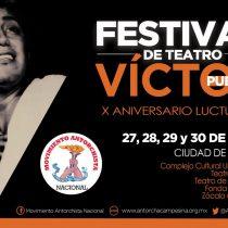 Rinde Antorcha  homenaje a Víctor Puebla a diez años de su muerte