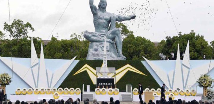Nagasaki recuerda el 72 aniversario del bombardeo atómico