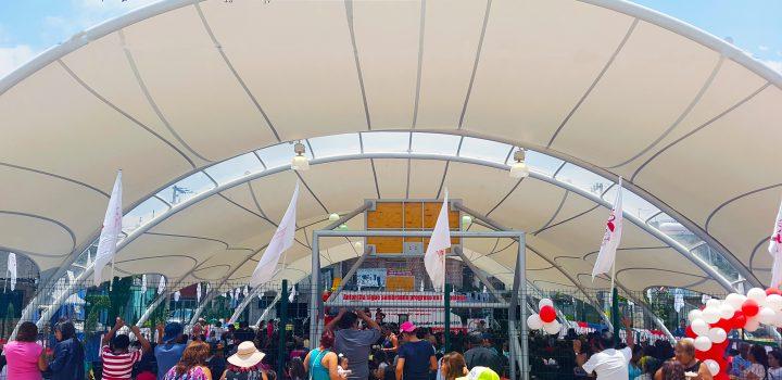 Inauguró Antorcha en Iztapalapa obras por más de 9 mdp