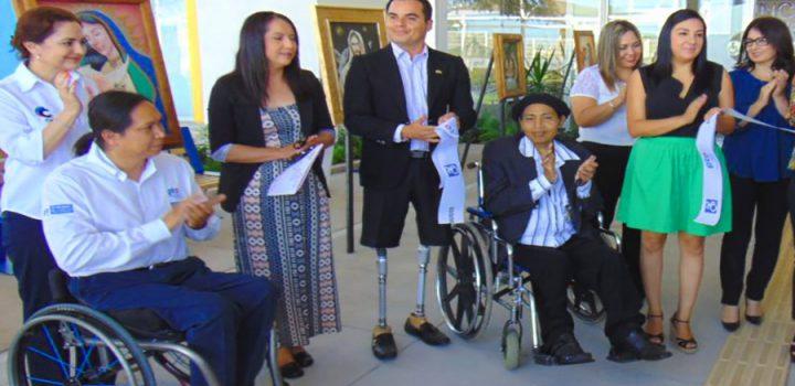 La ventana arte incluyente, proyecto en solidaridad con discapacitados