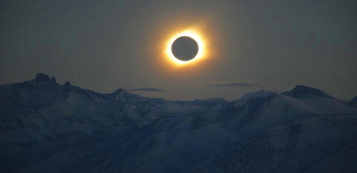 Eclipse de sol en América del Norte