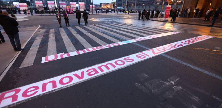 Recobra Zócalo plenitud, grandeza y majestuosidad; lugar de orgullo para los mexicanos