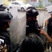 Policía de Veracruz reprime a habitantes de colonia El Trébol, en Córdoba
