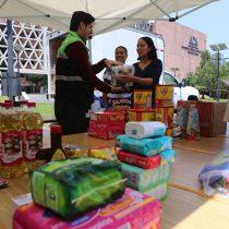 Solidaria participación en centros de acopio para damnificados instalados por la UAM