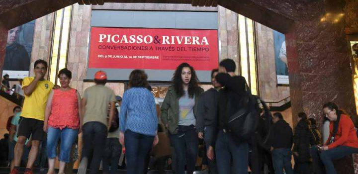 Más de 200 mil personas han visitado la exposición Picasso & Rivera: Conversaciones a través del tiempo